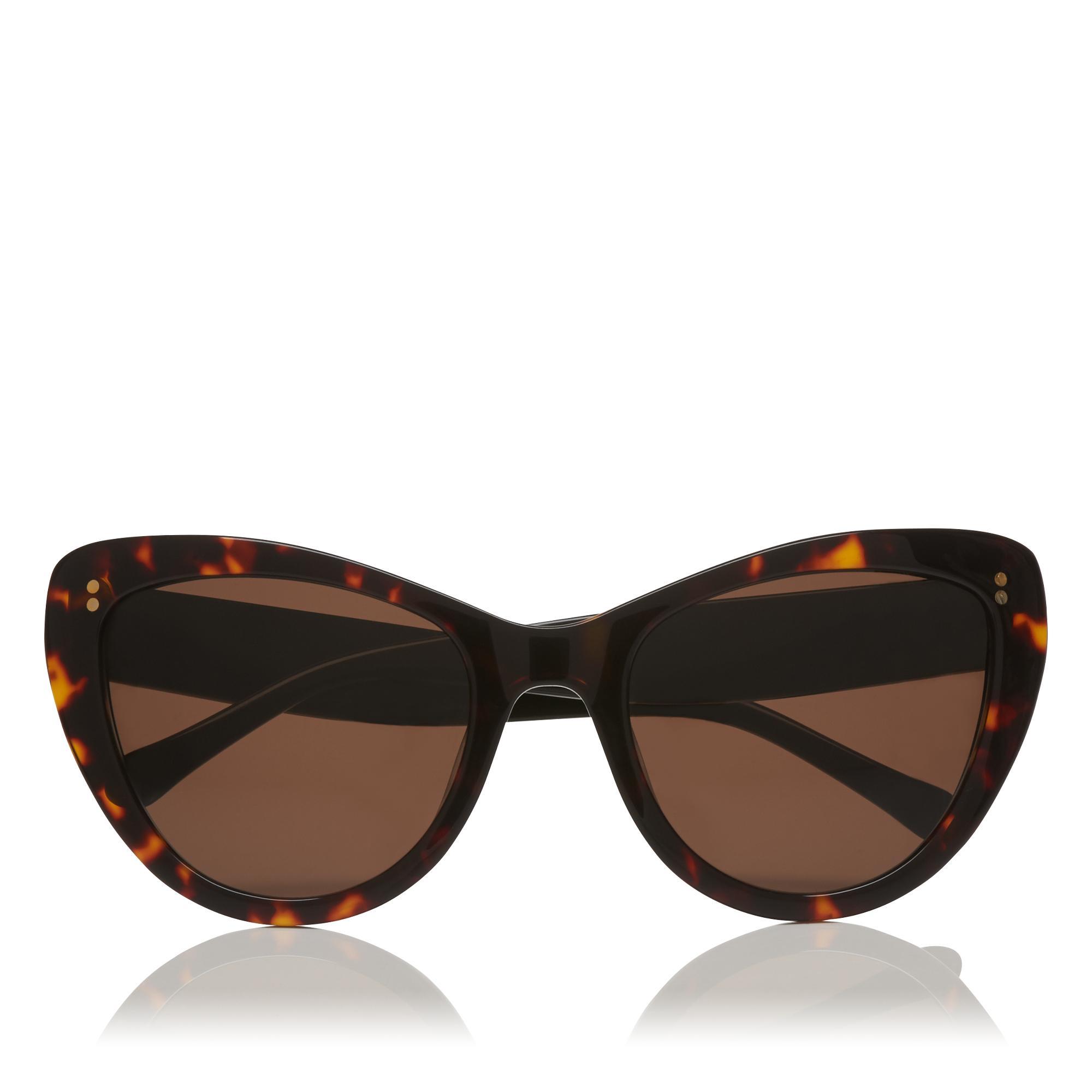 Alex Natural Tortoiseshell Sunglasses