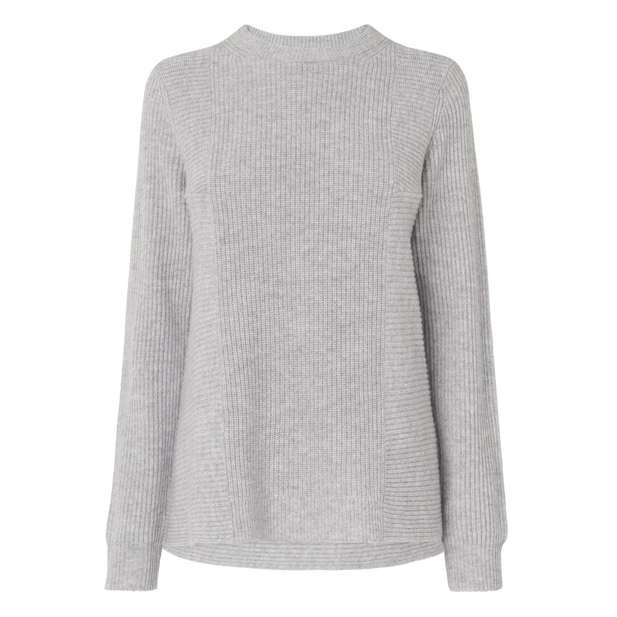 Alma Grey Wool Cashmere Jumper