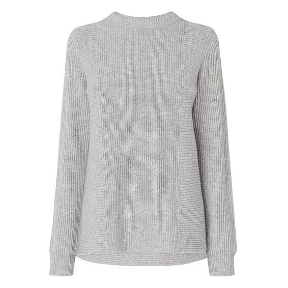 Alma Grey Wool Cashmere Jumper