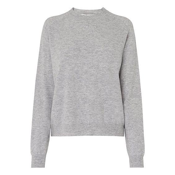 Mika Grey Wool Cashmere Jumper