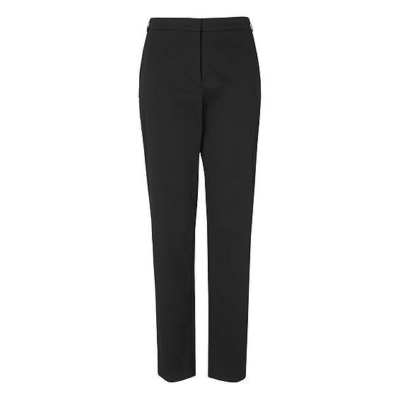 Gretta Black Cotton Trouser