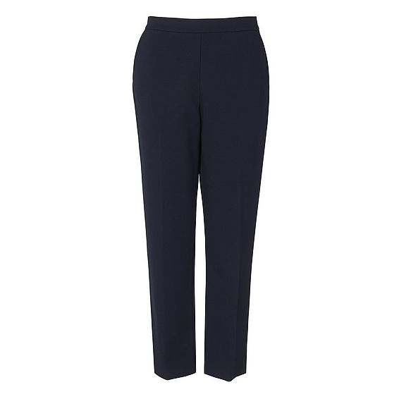 Solene Navy Trouser
