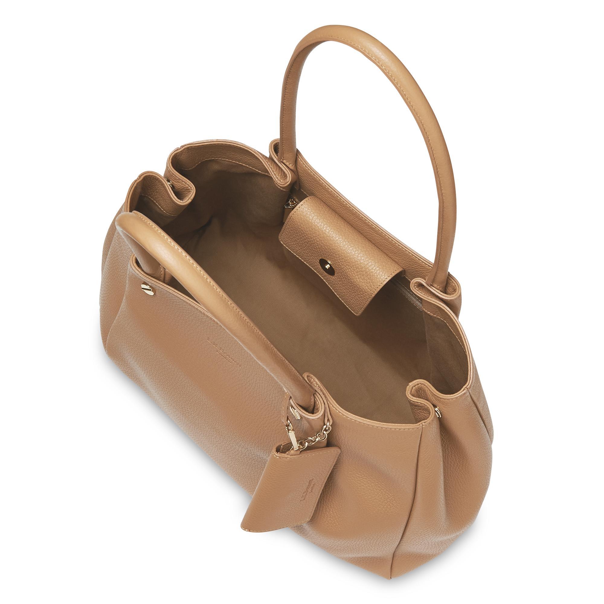 2f95d85cdf4 Regan Tan Leather Tote Bag