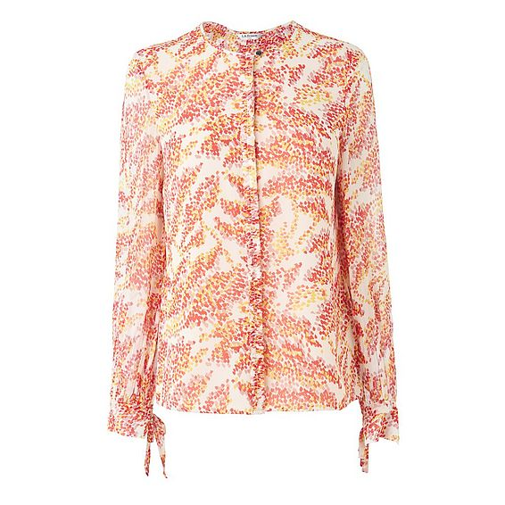 Kimi Cream Yellow Silk Blouse