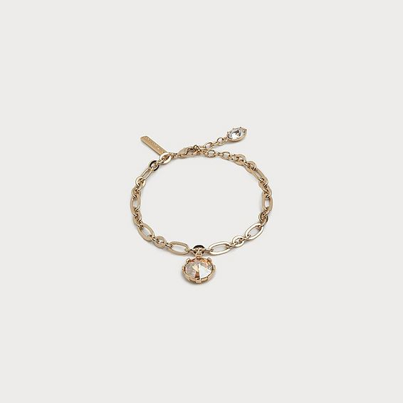 Lydia Crystal Drop Bracelet
