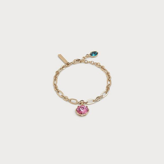 Lydia Rose Crystal Drop Bracelet