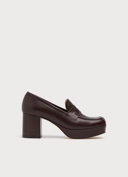 Lina Wine Leather Courts