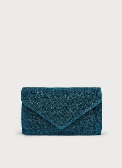 Lorna Blue Clutch Bag