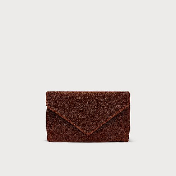 Lorna Bronze Clutch Bag