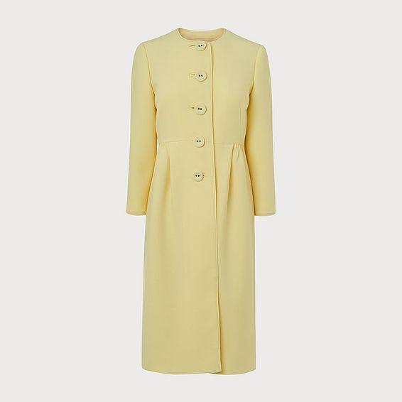 Georgia Yellow Occasion Coat