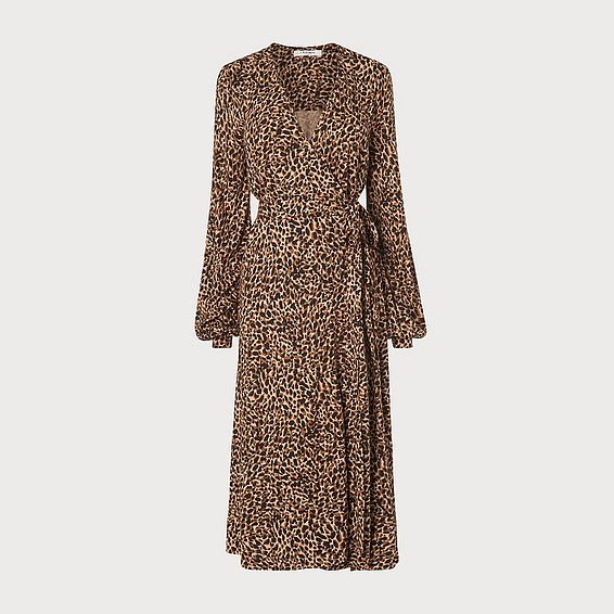 Daisy Leopard Print Dress