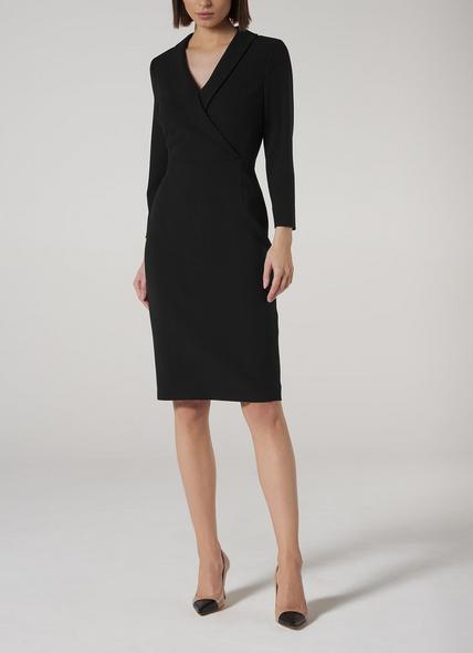 Effie Black Shift Dress