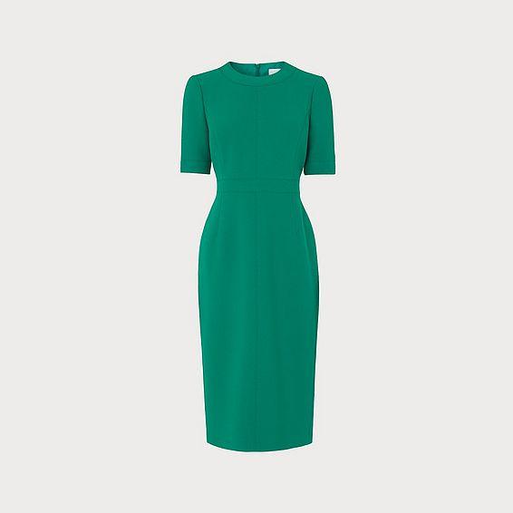 Elene Green Shift Dress