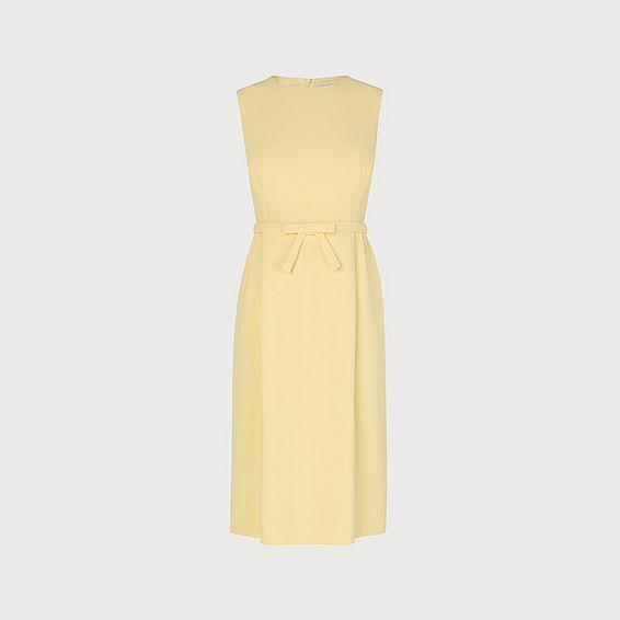 Georgia Yellow Shift Dress