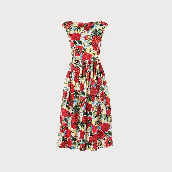 Issie Picnic Rose Dress