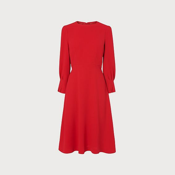 Kera Red Dress