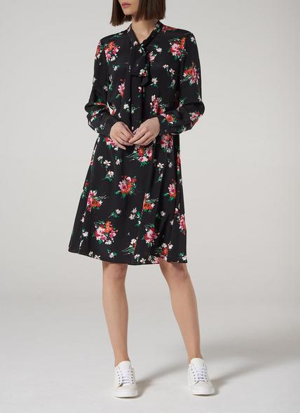Lotte Floral Silk Dress