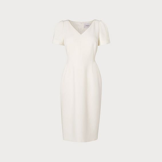 Rebecca Cream Shift Dress