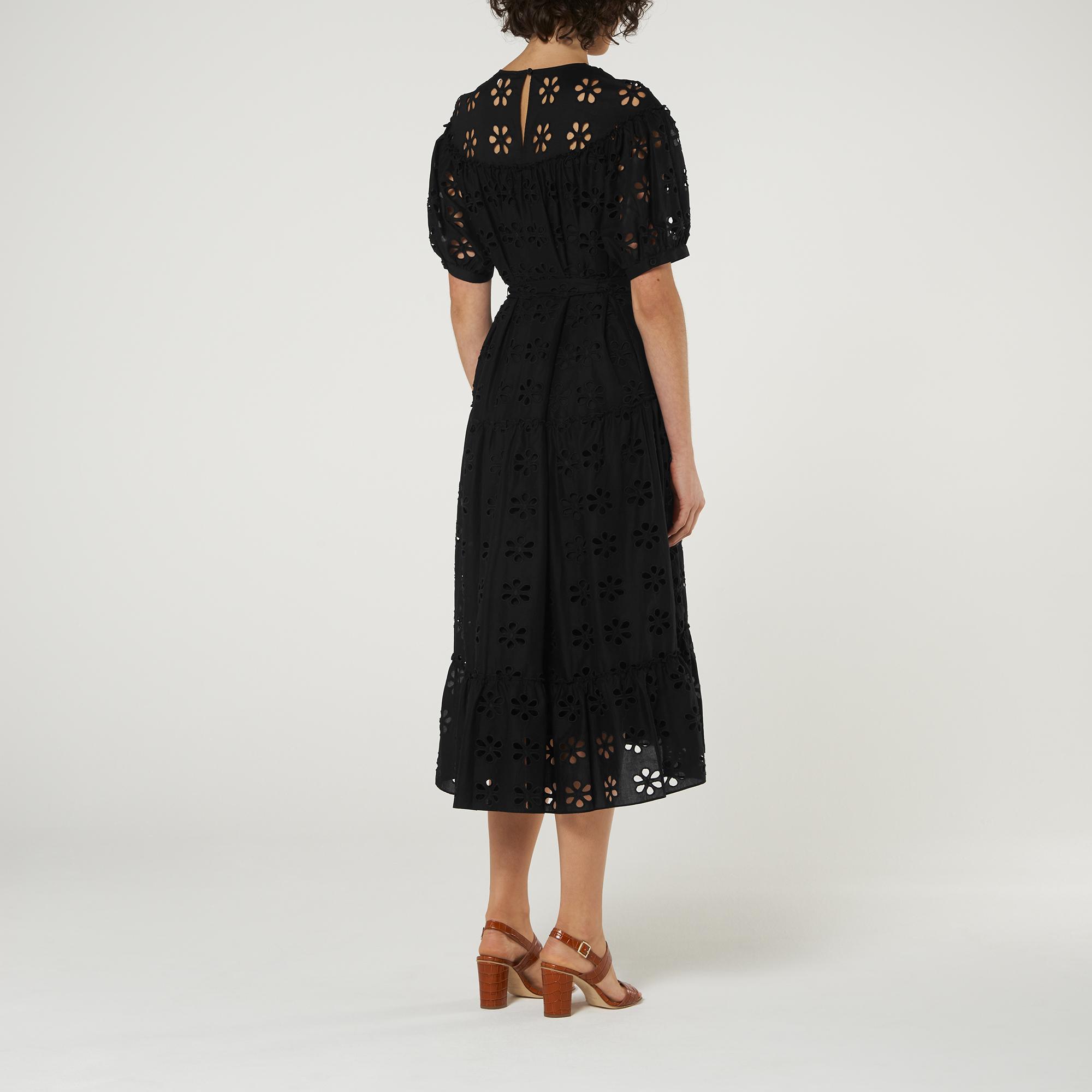 L-K-Bennett-Rego-Broderie-Anglaise-Cotton-Midi-Dress thumbnail 23