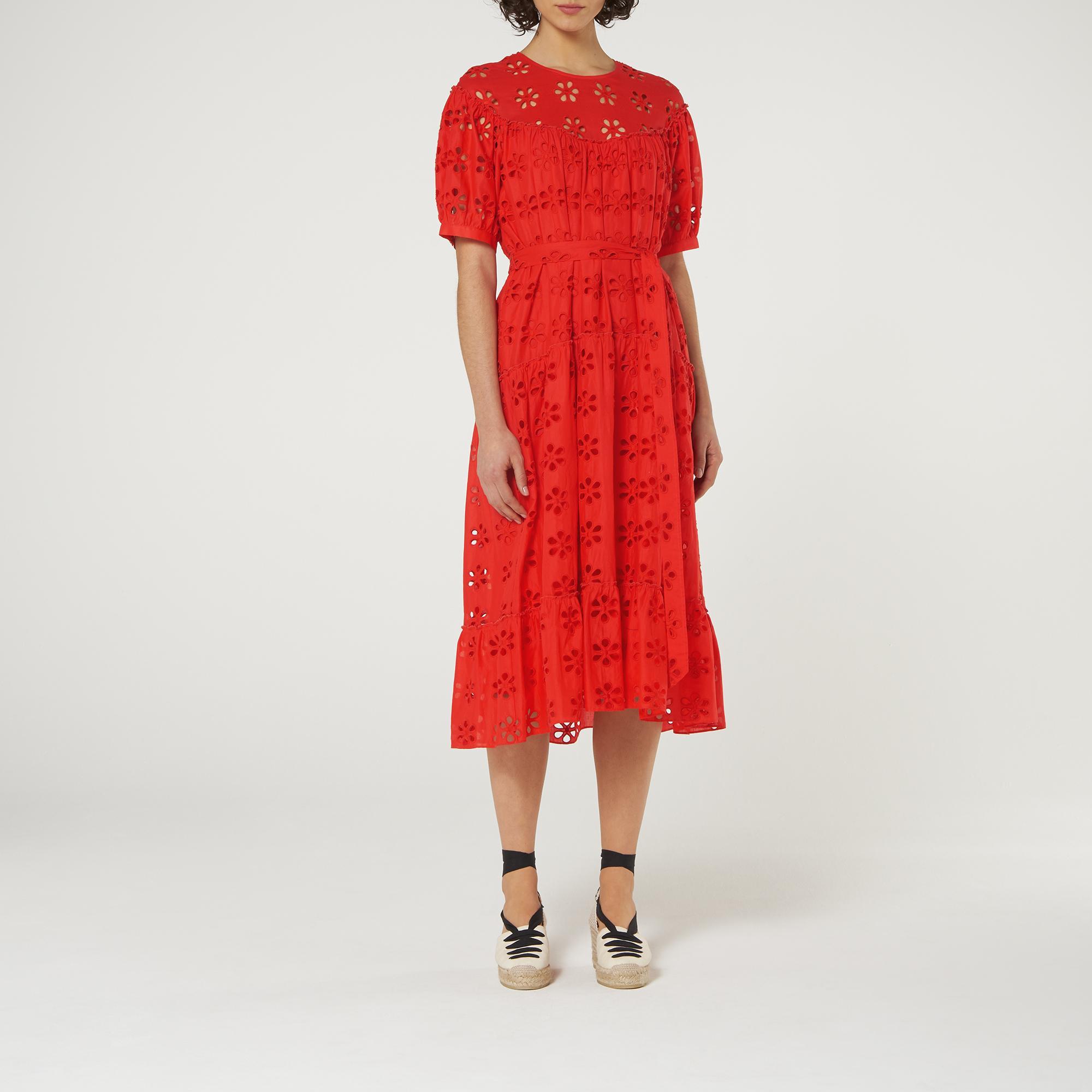 L-K-Bennett-Rego-Broderie-Anglaise-Cotton-Midi-Dress thumbnail 14