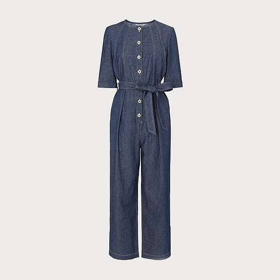 Ruby Denim Jumpsuit