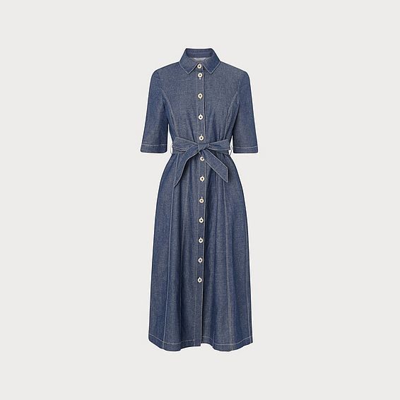 Suze Denim Shirt Dress