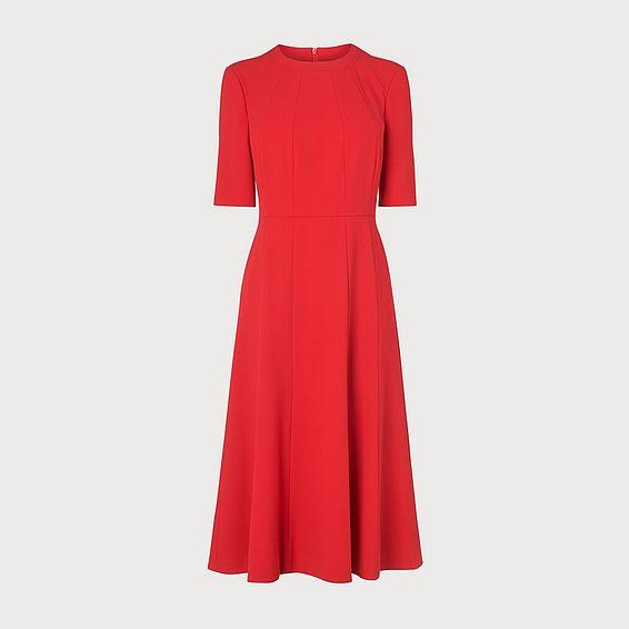 Vena Red Dress