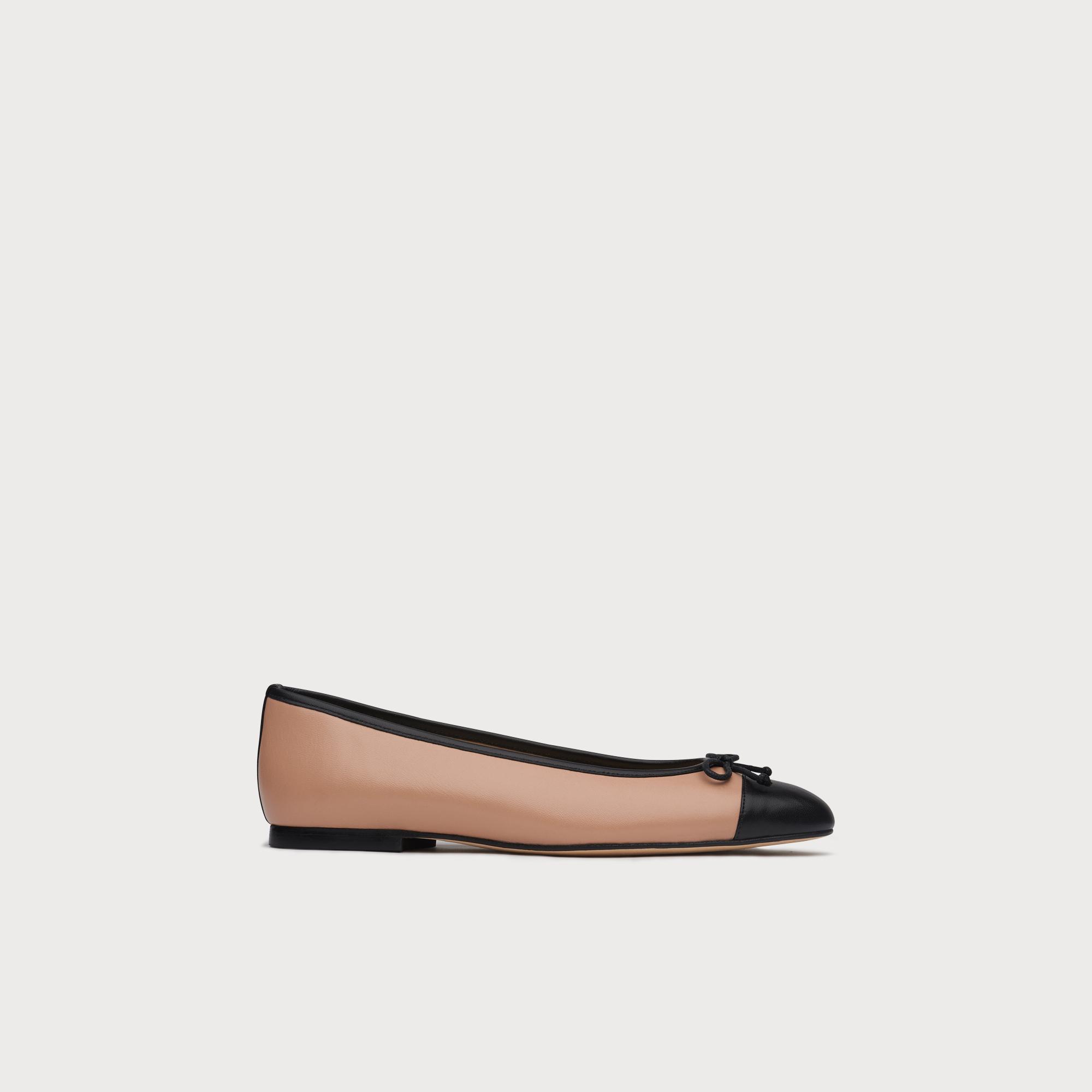 5fe945080 Kara Trench Toe Cap Ballerina Pumps | Shoes | L.K.Bennett
