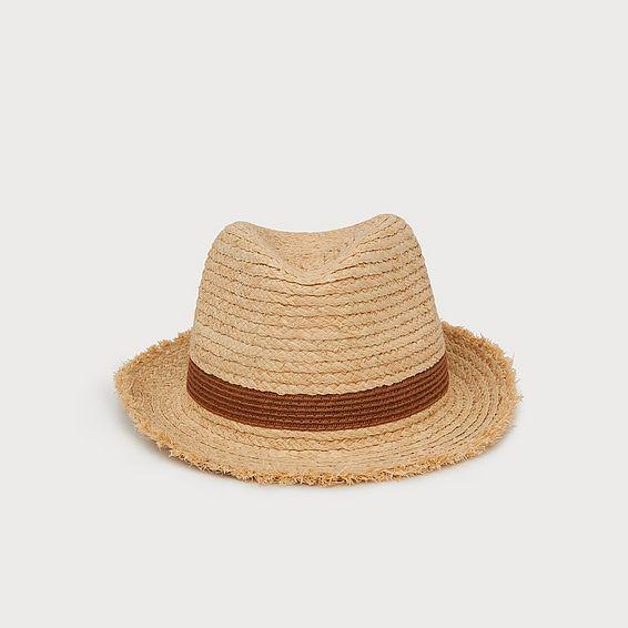 Lacy Raffia Hat
