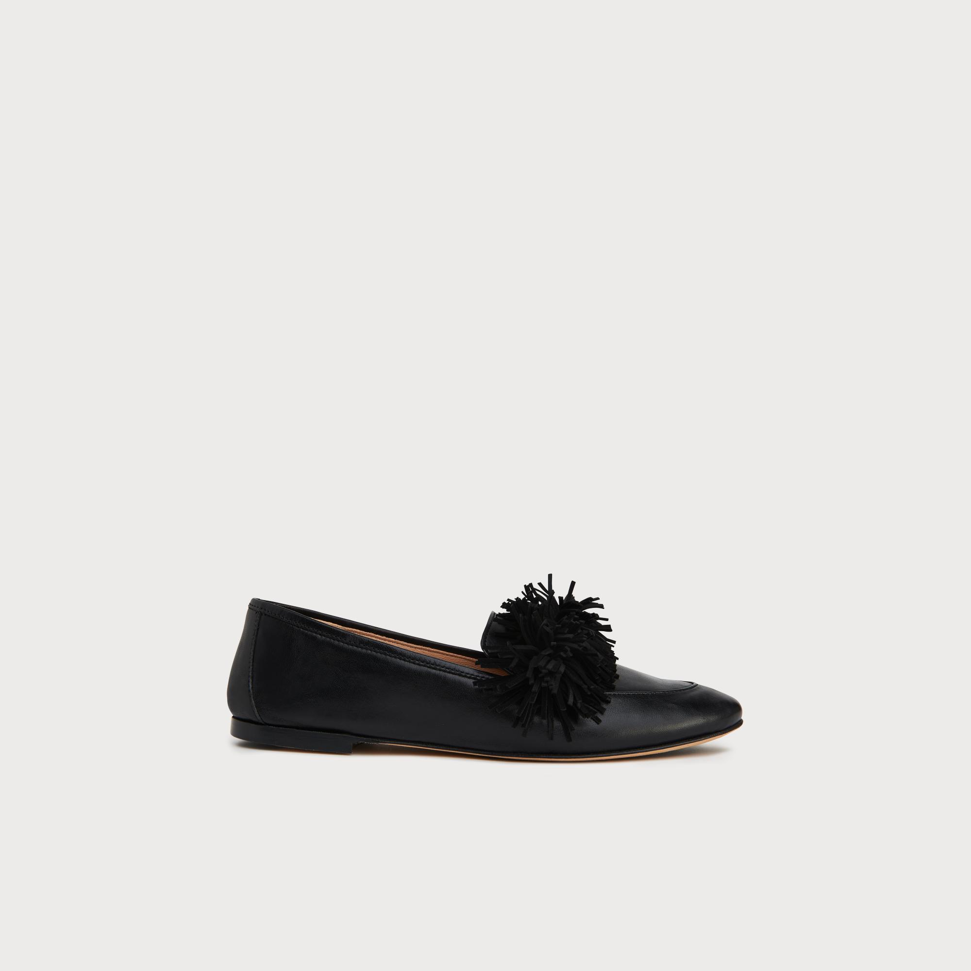 10ef646fd9759 Lera Black Leather Tassel Loafers | Shoes | L.K.Bennett