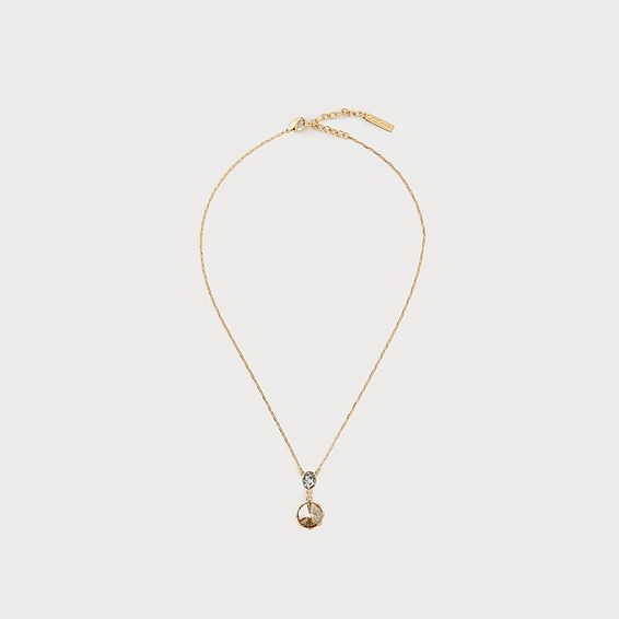 Lottie Crystal Drop Necklace
