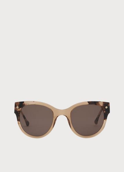 Isabel Tortoiseshell And Blush Sunglasses