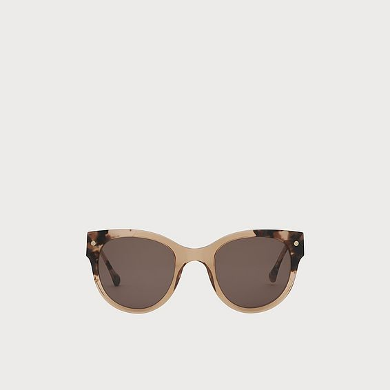 Isabel Tortoiseshell And Blush Sunglasses