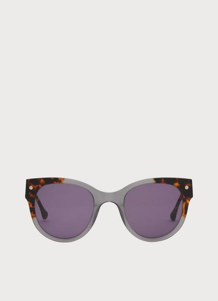 Isabel Tortoiseshell And Grey Sunglasses