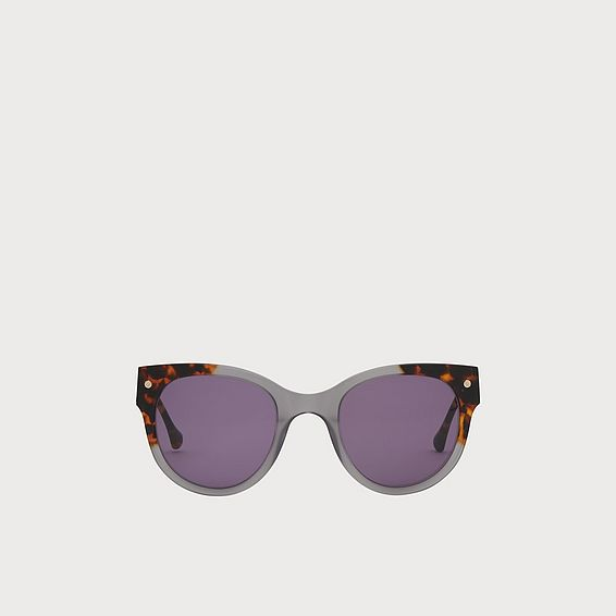 Isabel Tortoiseshell And Grey Sunglasses