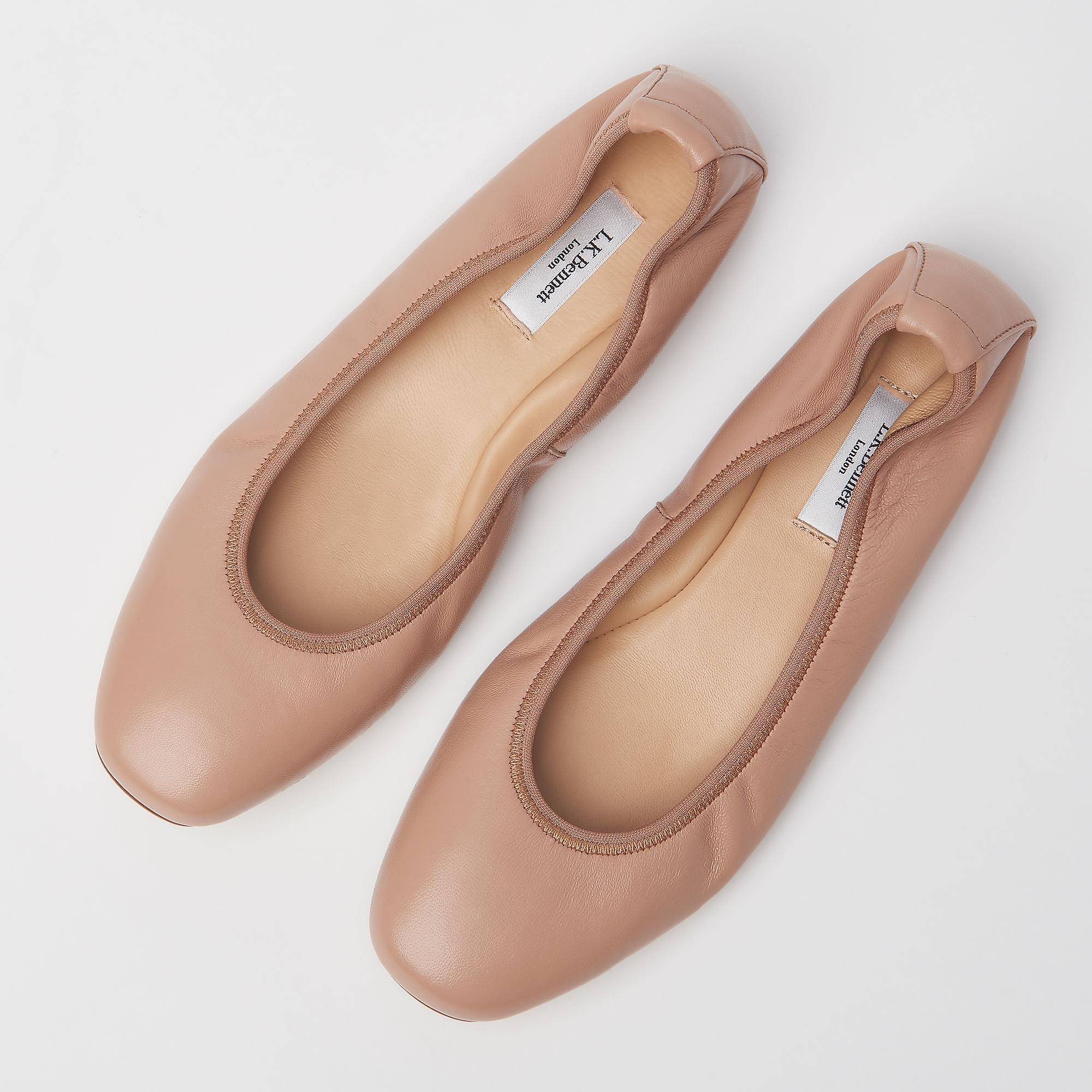 301d73573 ... Trina Leather Ballet Pumps. Tap to zoom