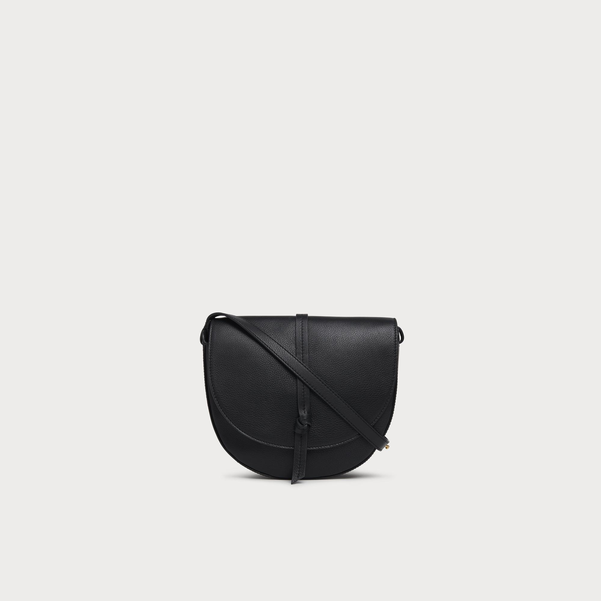 wide range reliable quality quality products Bluebell Black Leather Crossbody Bag