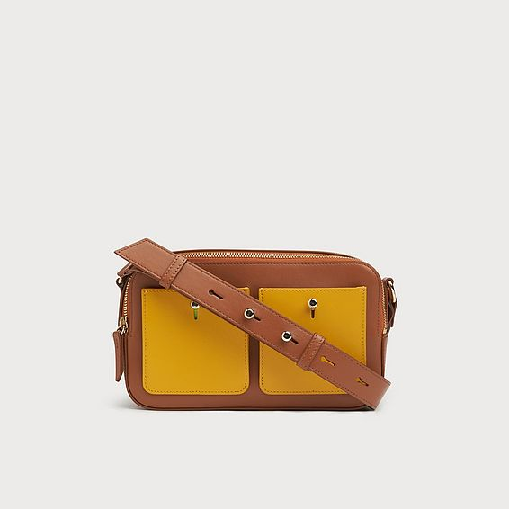 Matilda Tan Leather Shoulder Bag
