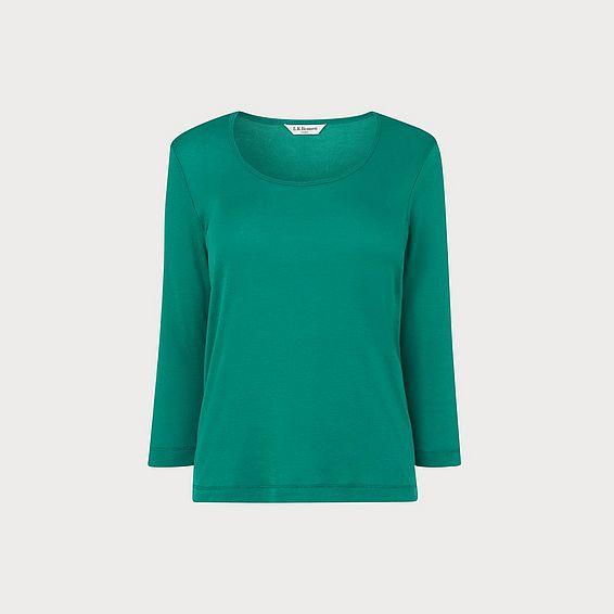 Jane Green Cotton Jersey Top