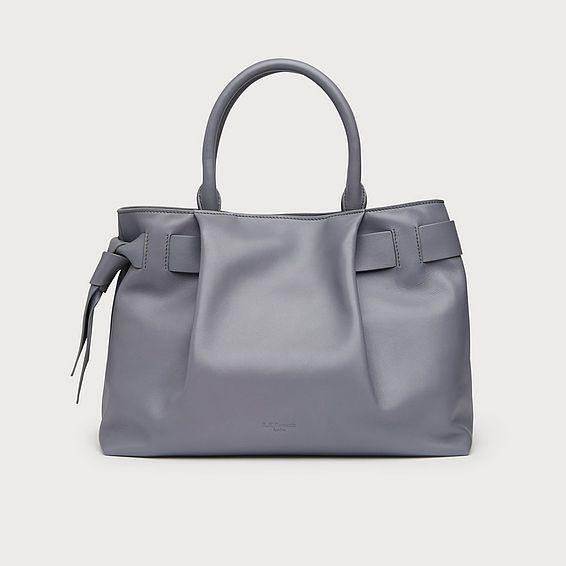 Gemma Dove Leather Tote Bag