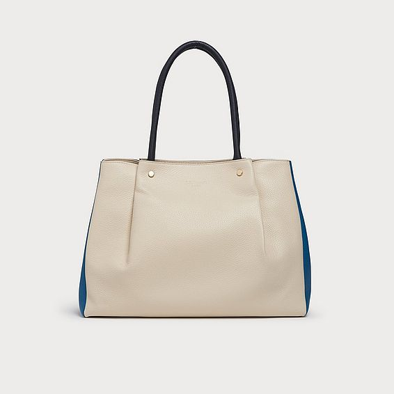 Regan Multi Leather Tote Bag