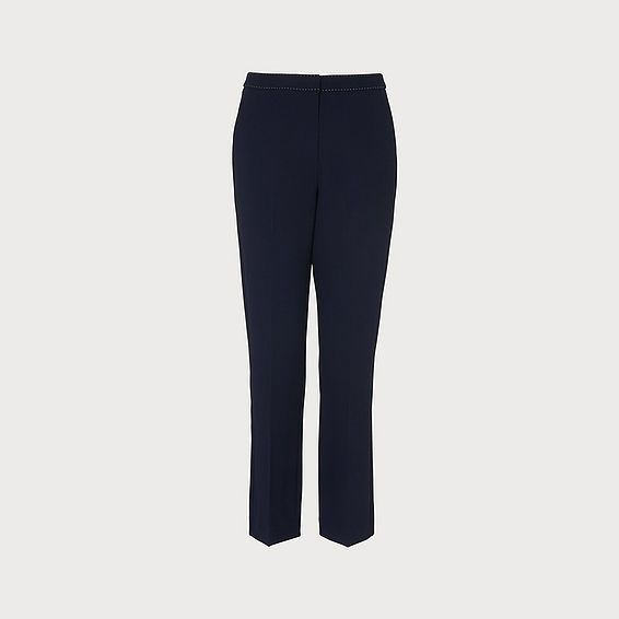 Dannie Navy Trousers
