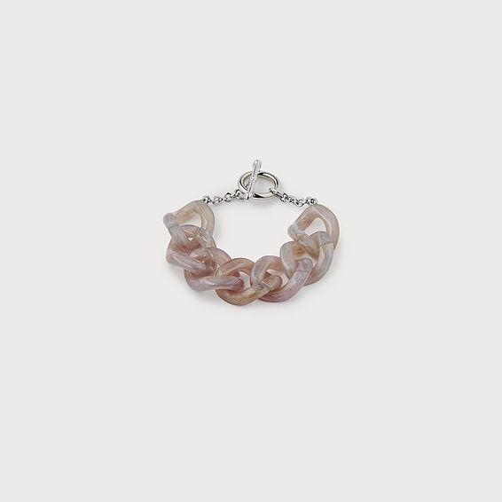Brighton Lilac Resin Chain Bracelet