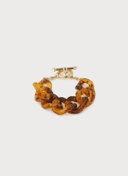 Brighton Tortoise Shell Resin Chain Bracelet