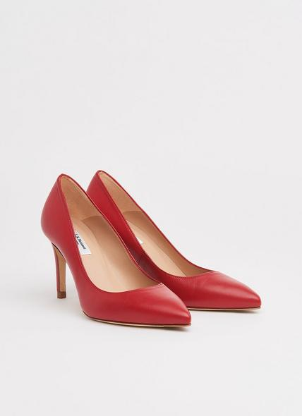 Floret Roca Red Leather Courts