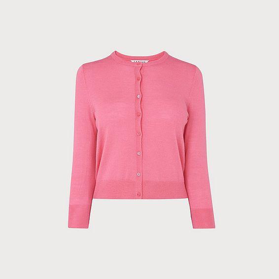 Bonnie Pink Merino Wool Cardigan