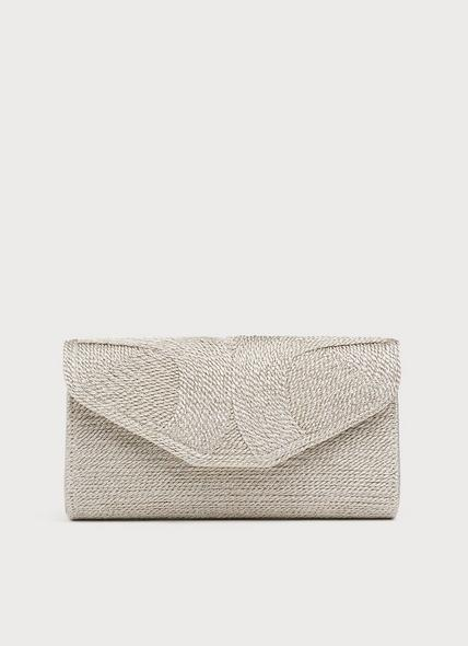 Lucia Soft Gold Rope Lurex Clutch