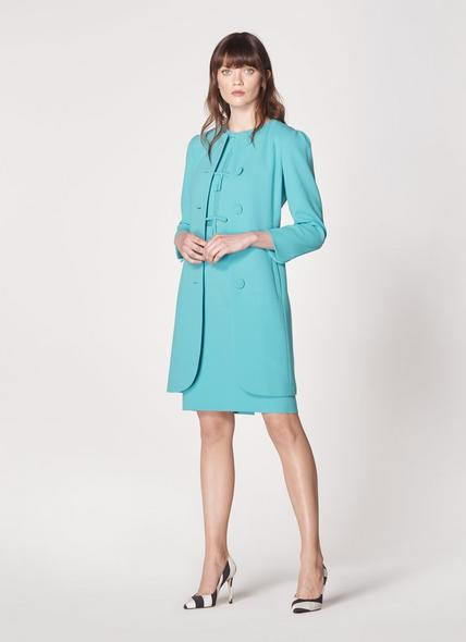 Rosamund Pale Blue Occasion Coat