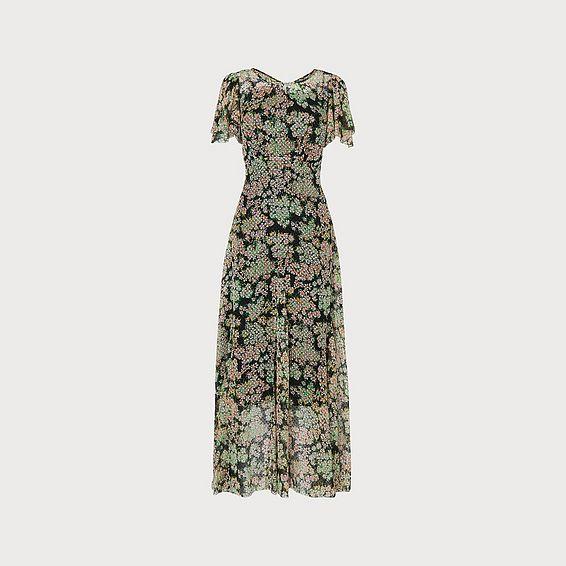 Amelia Multi Silk Dress