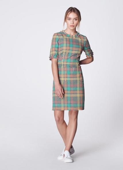 Bonnie Colourful Tweed Dress